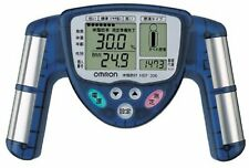 Omron body fat meter blue HBF-306-A Genuine from Japan