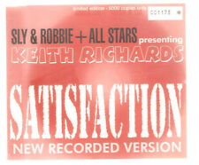 """SLY & ROBBIE + ALL-STARS pres. KEITH RICHARDS """"Satisfaction"""" CD numbered ltd"""