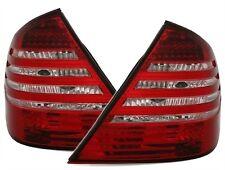 FEUX ARRIERE LED MERCEDES CLASSE E W211 02/2002-06/2006 BLANC ROUGE CRISTAL