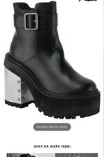 NWB Killstar Witch Way Gothic Boots Size 10 NIB