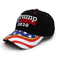President Donald Trump 2020 Winner USA Flag Baseball Cap Hat Make America Great*