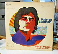 """PATRICK SAMSON """"SOLI SI MUORE(CRIMSON AND CLOVER)"""" 1969 CAROSELLO PLP325 - VG"""