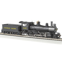 Bachmann 52203 Canadian Pacific #847 Baldwin 4-6-0 DCC Ready Locomotive HO Scale