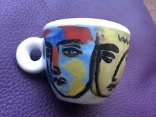 """RICHARD GINORI """"FACCE ITALIANE"""" ILLY COLLECTION 1993 ART ESSPRESSO CUP NEW"""