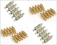 10 Sets Oval Strong Magnetic Clasps Connector Jewelry Making Findings