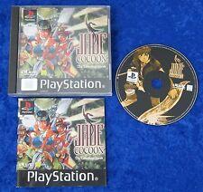 Jade cocoon la Tamamayu leyenda, ps1, PlayStation 1 juego, embalaje original y guía