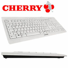 CHERRY STREAM 3.0 - Tastatur / Keyboard - USB - Deutsch - grey - neues Modell