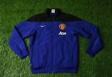 MANCHESTER UNITED 2013/2014 FOOTBALL TRACK TOP JACKET TRAINING NIKE ORIGINAL