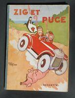 SAINT-OGAN. Zig et Puce. En route pour l'Amérique. Hachette 1927. EO. Album n°1