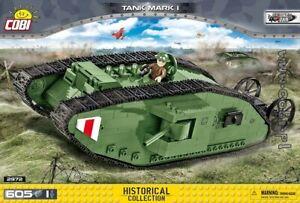 COBI  Mark  I  / 2972 / 605 pcs  WWI  British tank
