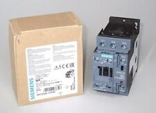 Siemens Sirius Contactor 600 V. Coil, 13 FLA, 40A Res., 11kW, 3P, 3RT2026-1AT60