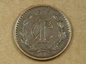 1906 Mexico 1 Centavo Coin