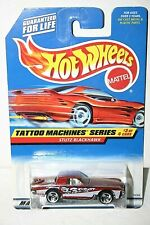Hot Wheels Stutz Blackhawk # 687 Tattoo Machine's series red