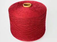 100% Schurwolle Rot Garn / Wolle  1450gr. Stricken / Häkeln #5