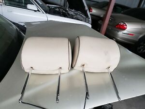 2003 2004 2005 2006 2007 2008 JAGUAR S-TYPE FRONT SEAT HEADRESTS WITH MONITORS