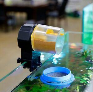 Adjustable Automatic Aquarium Timer Auto Fish Tank Pond Food Feeder Feeding US