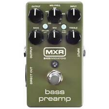 MXR Bass Pre Amp FX Pedal