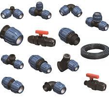 PE Rohrverbinder 16mm - 40mm, PP Rohrverbinder PE Klemmverbinder, PE Rohr, DVGW