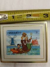 Disney Hanford Heirlooms Anguilla Christmas in Holland framed 64 of 10000 low #