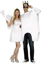 Couples Ladies AND Mens Tooth & Fairy Halloween Fancy Dress Costumes Outfits