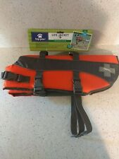 NEW Top Paw  Life Jacket For Dogs Sizes X-Small to Large - REFLECTIVE ACCENTS