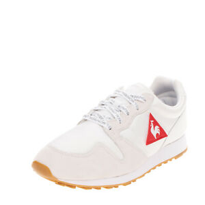 RRP €130 LE COQ SPORTIF Sneakers EU43 UK9 US10 Removable Patches Padded Topline