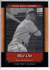 MEL OTT 2001 Upper Deck Legends #70