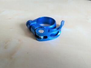Alu Sattel Schnellspanner Spannhebel Klemmverschluss  * 31,8 mm *  hochwertig