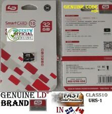 Genuine LD Brand 32GB 32 gb Micro Sd card TF Flash Memory Class10 MicroSd UHS-1