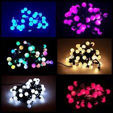 50/100 LED Berry Christmas Wedding Garden Party String Window Tree Lights 5M/10M