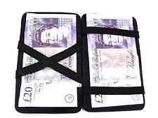 NEW MAGIC SOFT BLACK LEATHER WALLET MARKET TRADER TAXI DRIVER CABIN CREW