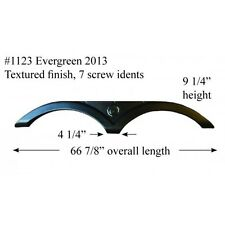 Evergreen RV Fender Skirt Fiberglass #1123 Black  **SEE DESCRIPTION**