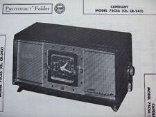 CAPEHART 75C56 RADIO PHOTOFACT