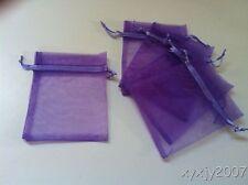 "30 Lavender  4 x 4.5""Organza Gift Bag Pouch Wedding Favor"