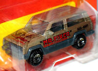 MATCHBOX MR. FIXER OLIVE GREEN JEEP CHEROKEE RARE MINT ON THE CARD HTF 1988