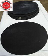 "VITON FLUOROELASTOMER Disc Rubber Gasket Material - 9 inch Disc x 1/16"" 1 piece"