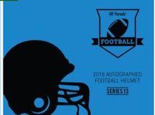 57ddea2cdc8 Limited Edition(FULL SIZED) AUTOGRAPHED NFL football Helmet Box Break (631)