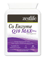 Zestlife CoEnzyme Q10 MAX  for heart, heart rhythm & boost for immune system
