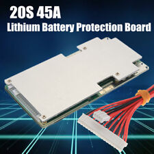 45A 20S 72V 74V 84V Li-ion 18650 Battery Power Protection Board w/ Balance BMS