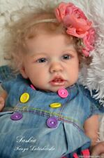 """Unpainted reborn doll kit SASKIA 20"""" Second Edition by Bonnie Browm sold out!"""