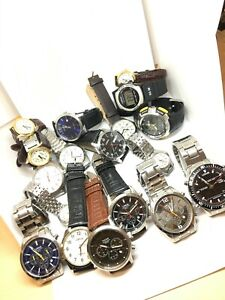 JOB LOT 18 x PULSAR LORUS By Seiko Watches All In EXCELLENT WORKING ORDER