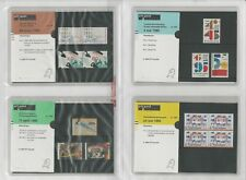 Netherlands Davo PTT Album, Mint NH Stamps & Sets, 20 Hingless Pages, 1995-97