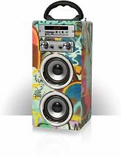 Kids Portable Karaoke Machine Bluetooth MP3 Speaker Mic FM Radio Pure Acoustics.