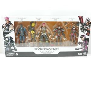 Overwatch Ultimate Carbon Series Action Figure 4 Pack | Brand New | Hasbro