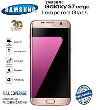 """For """"Samsung Galaxy S7 Edge"""" 100% Original 3D Curved Tempered Glass Screen Guard"""