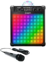 Ion 100W Party Rocker Max Wireless Rechargeable Karaoke Speaker w/ Mic