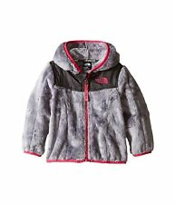 North Face Oso Hoodie - Infant 2017, Metallic Silver/Cabaret Pink, 0-3