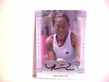 MEILEN TU 2013 Auto Ace Authentics Leaf 3/4 Holiday Bonus Autograph FREE SHP