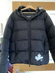 DSQUARED2 feather Winter Jacket. Large.