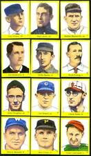 1989 Hall of Fame Stickers - 6 1930's HOFers